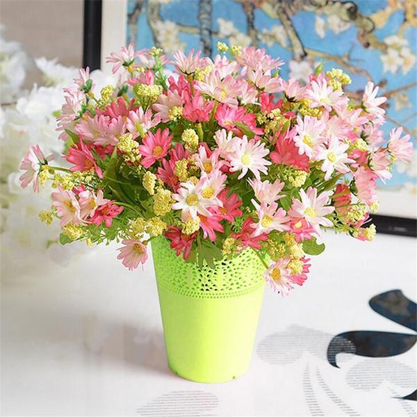 Wish Wedding Decoration Floral Hollow Design Flower Vase Solid