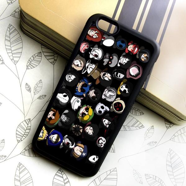 Creepypasta Horror Amino Phone Case for Samsung and iphone -mobile phone  case for iphone 7 8 plus 6 6s plus SE 5 5S 5C Samsung galaxy S3 S4 S5 S6 S7