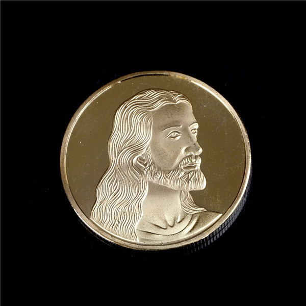 Jesus Last Supper Silver Plated Souvenir Coin Collection Collectible Christmas A