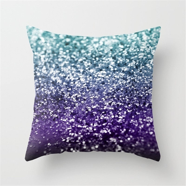 Multicolor Pillow Cover Waist Throw Cushion Case Sofa Home