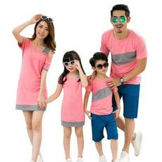Summer, Fashion, matchingshirt, Family