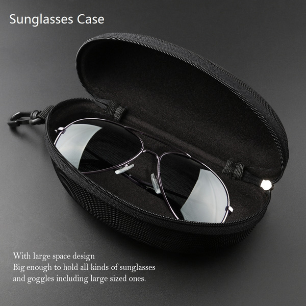Back To Search Resultsapparel Accessories Eyewear Accessories Learned Portable Carabiner Eye Glasses Sunglasses Hard Case Protector Box Holder #9