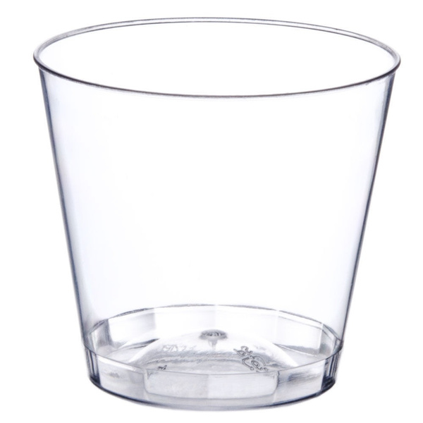 Clear 1 oz Shot Glasses Hard Plastic Disposable Cups for Bar /& Catering Bulk