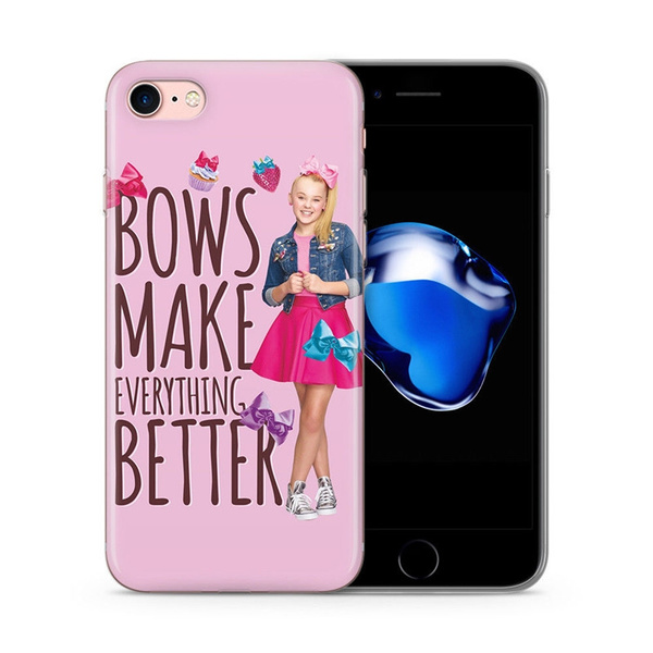 quality design b28dc 47325 JOJO SIWA STAR CELEBRITY QUOTES GEL / PLASTIC CASE COVER FOR iPhone 4 5 6  7s plus 8 x case Samsung Galaxy S6 S7 S8 cover