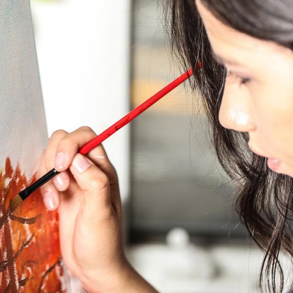 Wish | Acrylic Paint Studio Set - Professional Grade Painting Kit ...