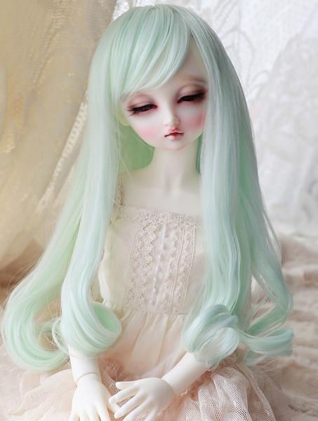 "1//3 8-9/"" BJD Wig Dal Pullip BJD SD LUTS DOD DD Dollfie Doll Wig Black Hair 1#8"