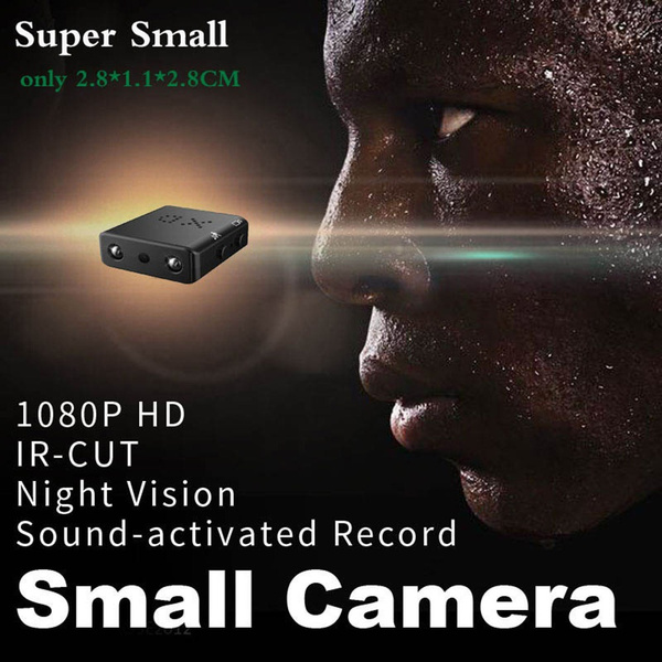 Mini 1080P Full HD IR-CUT Spy Cam Smallest Camera Mini Camcorder Night Vision