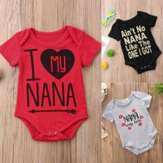 Cotton, shortsleevestop, Infant, Fashion