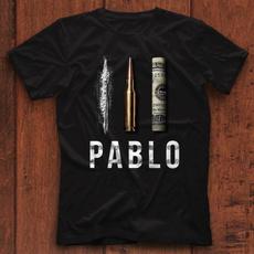Funny, pabloescobar, Bullet, mens tops