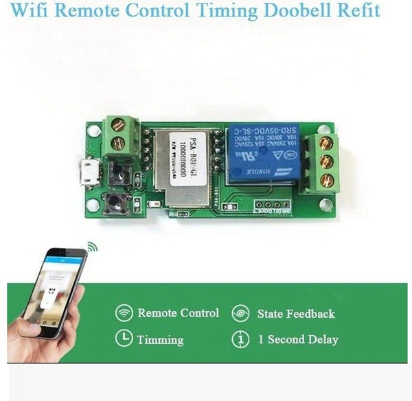 Smart DC 5V 1CH APP WiFi Wireless Switch Relay Module Phone APP For