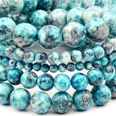 Blues, perle, Stone, 10mm