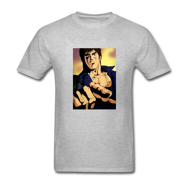 T-shirt ken le survivant fist of the north star homme aux 7 cicatrices