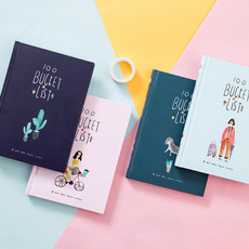 Kawaii, cute, compositionbook, Flowers
