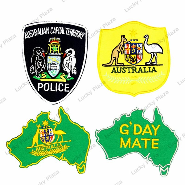 Australia National Coat of Arms Flag Embroidered Patch