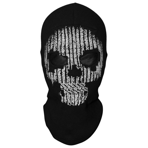 2018 Game Watch Dogs 2 Hacker Skull Mask Skeleton Balaclava Ghost Hacker Full Face Cosplay Mask Halloween Party