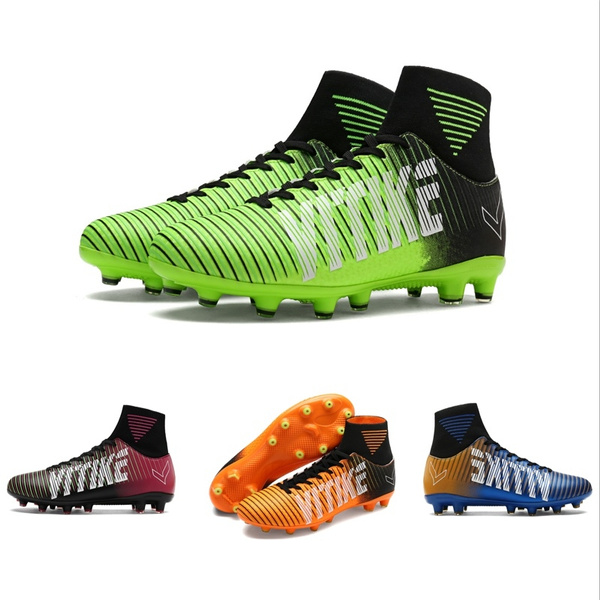 Boots Waterproof Cleats Soccer