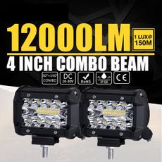 offroadsuvboatatvjeep4x4wd, led car light, lights, worklightbar