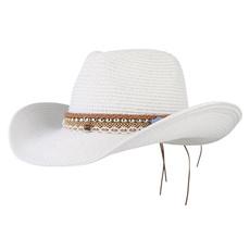 Summer, Fashion, mensstrawcowboyhat, Cowboy
