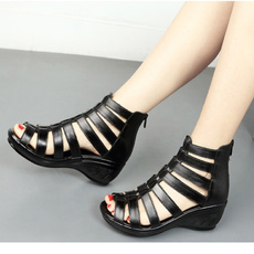 wedge, Sandals, shoes for womens, Summer
