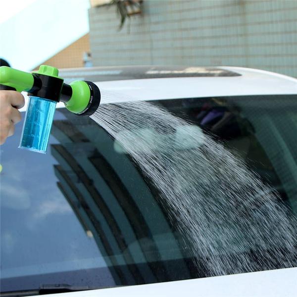 Geek | 8 in 1 High Pressure Foam Water Gun Sprayer Car Wash Gun Adjustable Spray Garden Household Washing Pump Nozzle Foam Gun