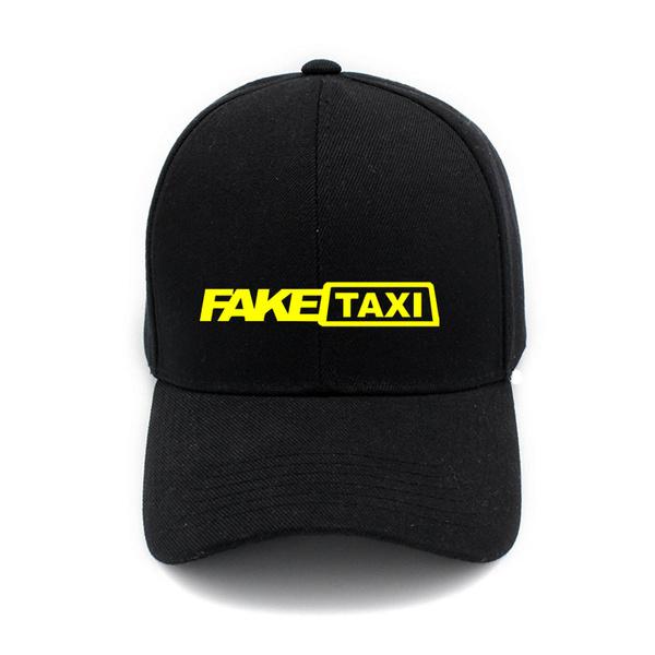565d415d818 Funny Fake Taxi Driver Hats Caps Print Cotton Hat Adjustable ...