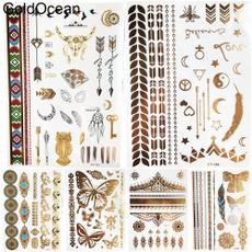 tattoo, art, Joyería, gold