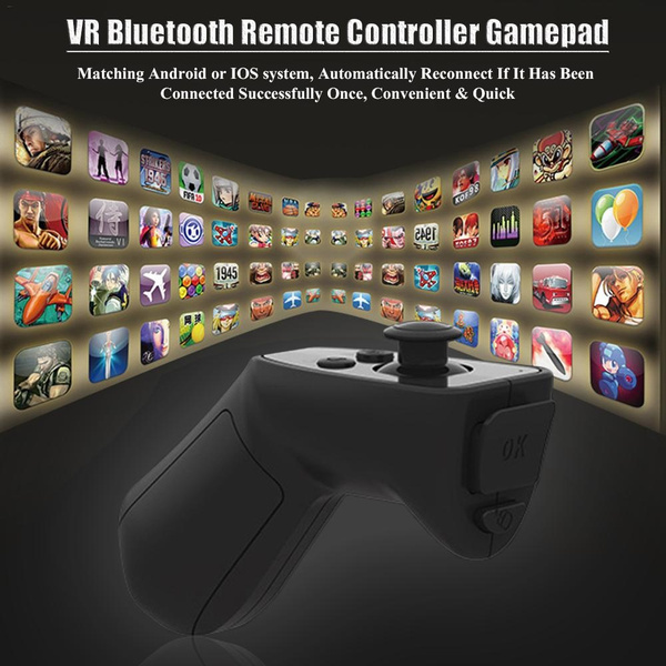 VR SHINECON Bluetooth 3 0 Remote Controller Wireless Joystick Gamepad For  Android iOS Smartphone