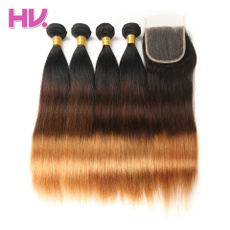 humanhairbundle, Straight Hair, brazilian virgin hair, ombrehair