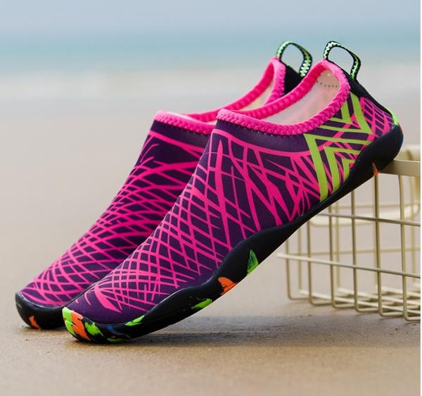Amanti esterni Scarpe da spiaggia Scarpe estive per l'outdoor Donna Uomo Scarpe Trekking Scarpe da passeggio Scarpe da ginnastica ad asciugatura
