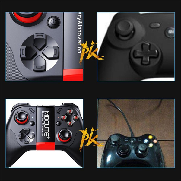 MOCUTE 053 054 VR Game Pad Android Joystick Bluetooth Controller Selfie Remote Control Gamepad for PC Smart Phone VR BOX Support 3D Glass King Of Glory ...