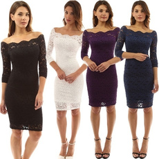 Club Dress, Lace Dress, Lace, Chiffon Dresses