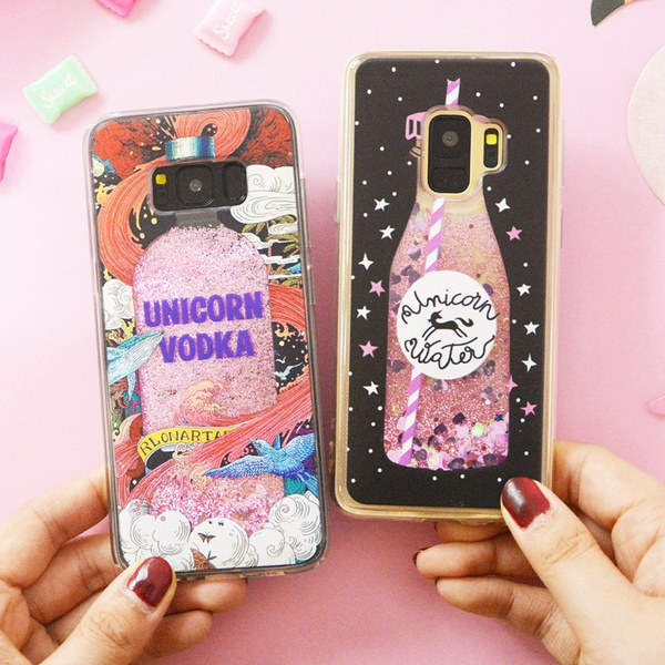 Softcase Glitter Unicorn Case