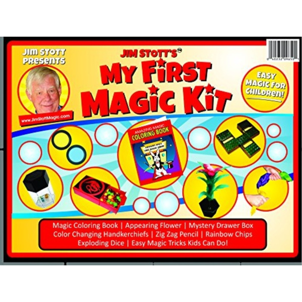 Wish | Jim Stott\'s \'My First Magic Kit\' Magic Set Featuring Easy to ...