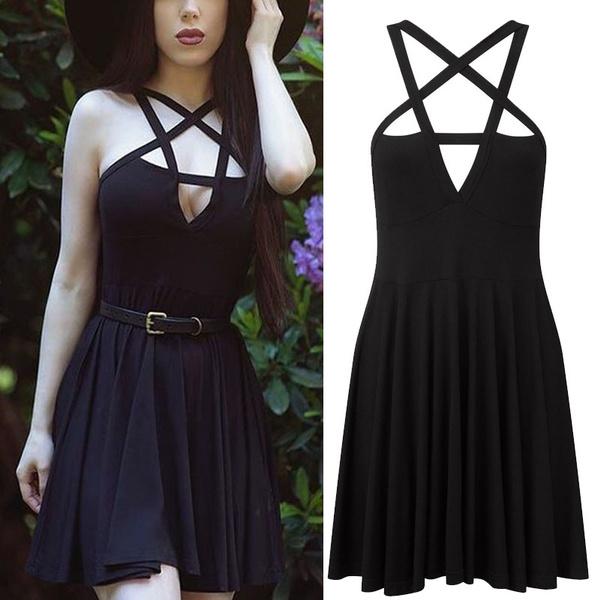 sleeveless, Goth, Fashion, Star