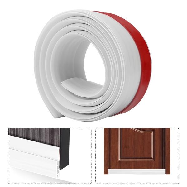 1PC Strips Door Bottom Seal Strip Door Bottom For Bathroom Bedroom Living  Room Door Weather Stripping Keep Bugs Cockroaches Spiders Out Door Draft