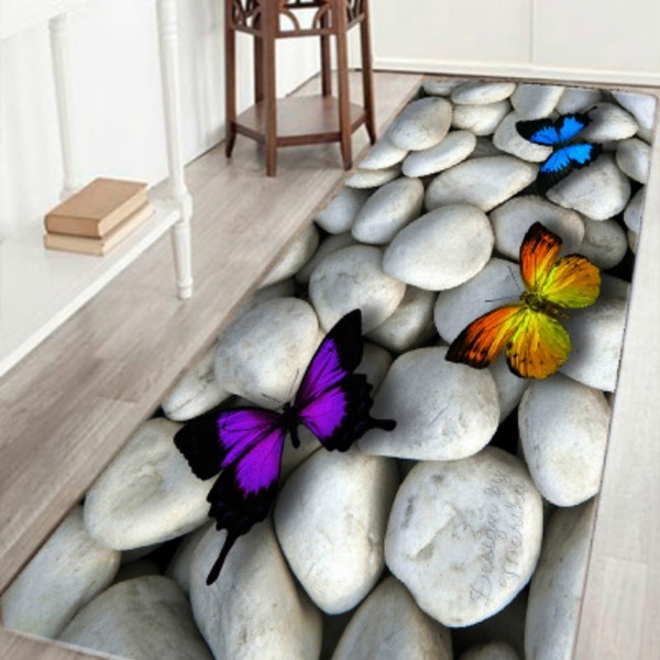 butterfly, arearugsamppad, Bathroom, Fashion