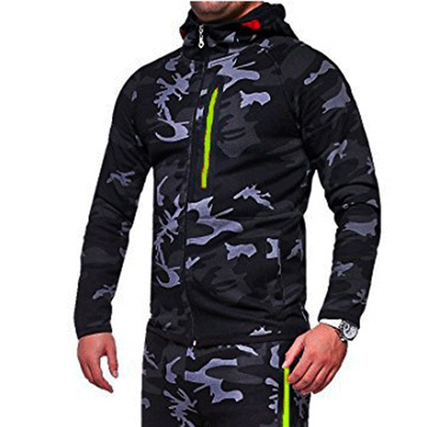 sale online for whole family the cheapest 2018 zipper hoodie camouflage military army style ensemble homme hombre  vetement manteau mens hooded hoodie and sweatshirts men
