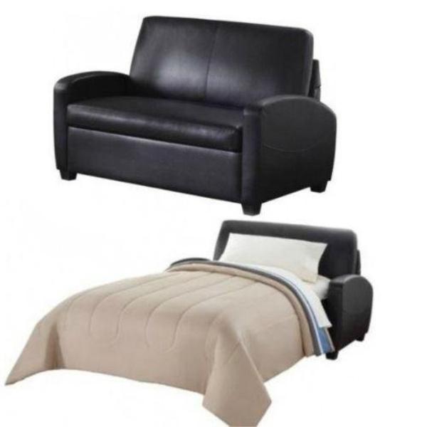 Wondrous Alexs New Sofa Sleeper Black Convertible Couch Loveseat Chair Leather Bed Mattress Mainstays Theyellowbook Wood Chair Design Ideas Theyellowbookinfo