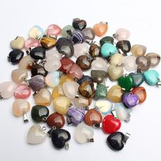 Heart, agatependant, quartz, Jewelry Accessory