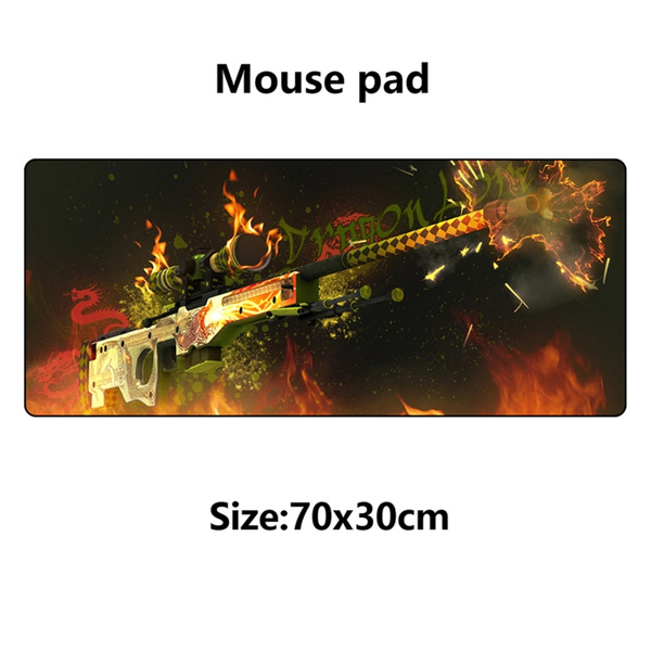 CS GO gaming mouse pad for AWP Dragon lore | Wish