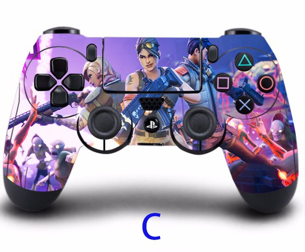All Playstation 4 Games : Geek game fortnite ps controller skin sticker cover for sony