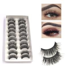 Eyelashes, False, Extension, postico