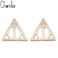 Fashion, Triangles, Jewelry, Stud Earring