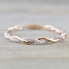 zirconring, Simple, Diamond Ring, Jewelry