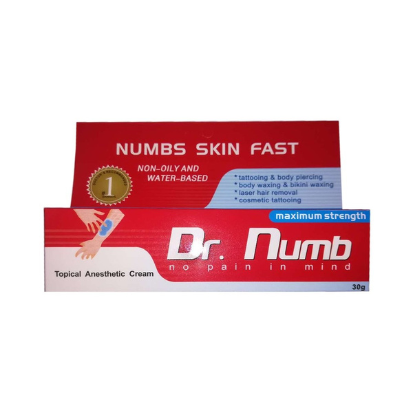 Skin Numbing Cream Topical Anesthetic Cream Healing Pain Killer For ...