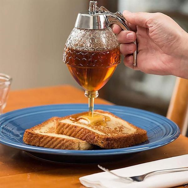Kitchen & Dining, Holder, syrupjar, honeydispenser