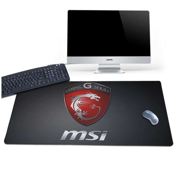 Msi Gaming Wallpaper Full Special For Office And Gamer Comfort Mouse Mat Gaming Mousepad Size For 3090cm118354inch