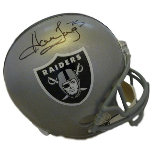 new style b6a54 3ad03 Denver Autographs 12178 Oakland Raiders Full Size JSA Howie Long  Autographed Helmet