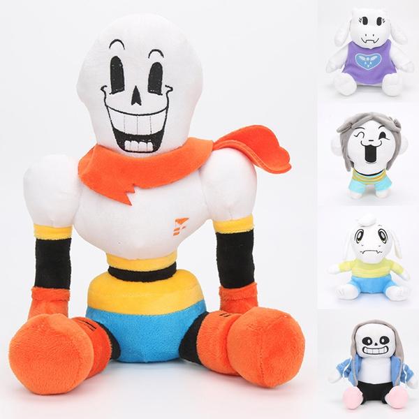Soft Undertale Sans Papyrus Plush Doll Figure Papyrus Toriel Stuffed  Plushie Kid Toy Hot