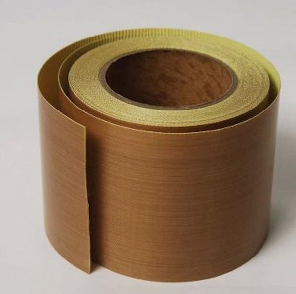 "3/""X 33 FT Brown PTFE Teflon Adhesive Tape High temperature tape"